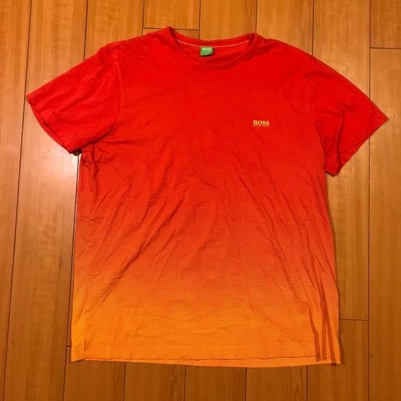 89fe88797d047 Hugo Boss Other - BOSS Hugo Boss Orange Red España Muscle Shirt XL